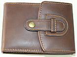Маникюрный набор, 9 предметов, коричневый в форме бумажника, фото 6