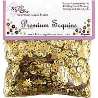 Паєтки - Golden - Lilac Lane - 20 g