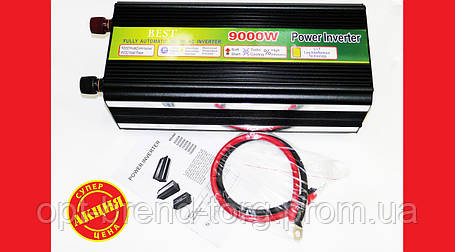 9000W 12V-220V Преобразователь авто инвертор, фото 2