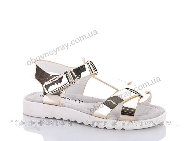 Летняя обувь оптом. Подростковые босоножки для девочек от ТМ. Солнце (рр.  31 по 36) ebaef0a4c8b93