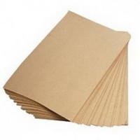 Крафт бумага в листах 297 x 420, порезка под заказ
