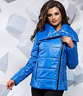 Куртка  плащевка женская на синтепоне , фото 1
