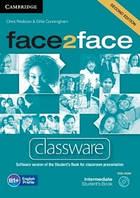 Face2Face Second Editon Intermediate Classware DVD-ROM