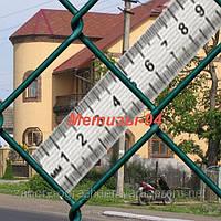 Сетка Рабица ТМ Казачка оцинкованная с полимерным покрытием 50*1,8/2,8.