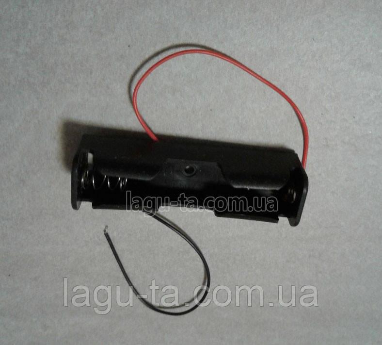 Кассета для аккумулятора 18650 одноместная