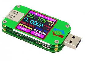 Вольтметр/амперметр тестер зарядных устройств с цветным дисплеем RD UM24