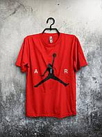Футболка Air Jordan | красная | с принтом | реплика