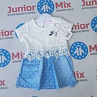 Детское летнее платье для девочек оптом