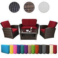 Плетені садові меблі: диван + 2 крісла Susanna, фото 1