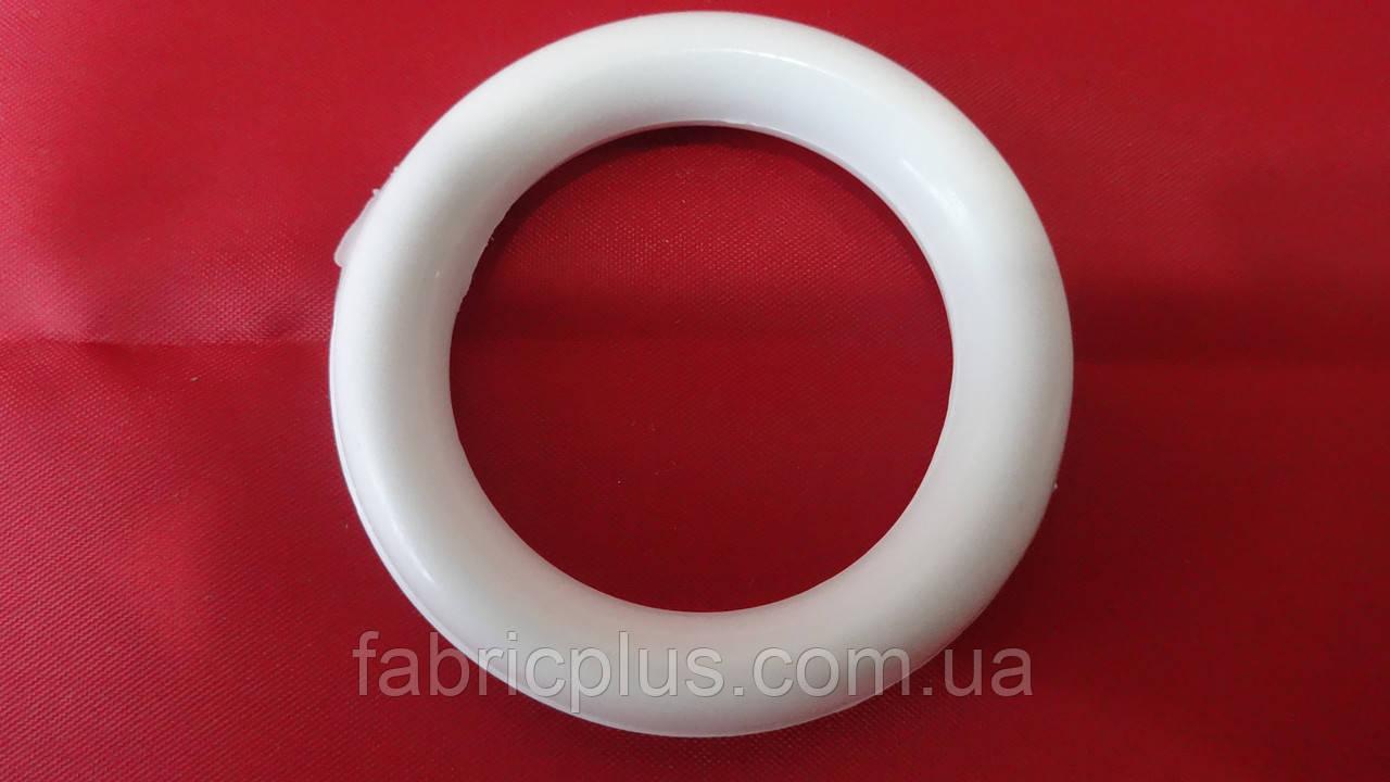 Кольцо для карниза  пластиковое  белое