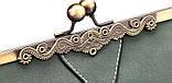 Сумка жіноча в вінтажному стилі (сіра), фото 7
