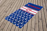 Полотенце пляжное велюр 75х150 Knot Lotus