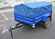 Прицеп автомобильный 2000 х 1200 х 380 мм. (Без колёс, без дуг, без тента)