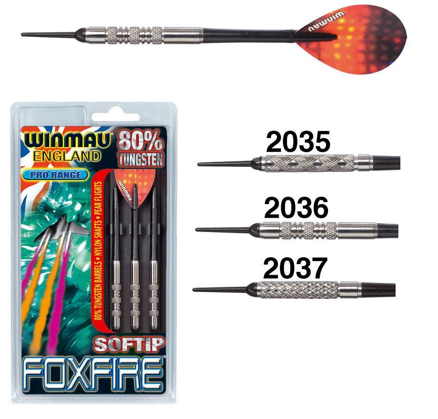 Дротики для электронного дартс Foxfire 80% 18гр