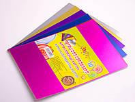 Картон цветной для поделок: металлизированный, 10 листов, А4
