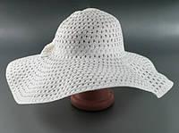 Соломенная шляпа Котьир 48 см белая