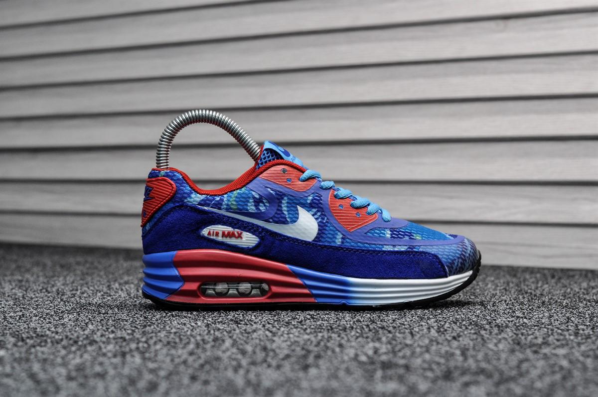 Женские кроссовки Nike Air Max 90 Реплика Синие - KAIFSHOP в Киевской  области 0b016b10d98