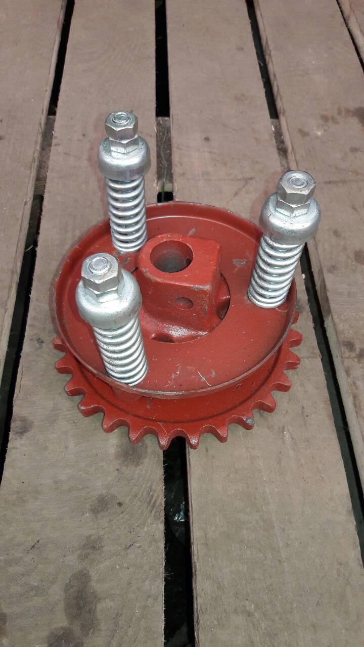 Механизм 54-2-19-3Б предохранительный колосового шнека Нива