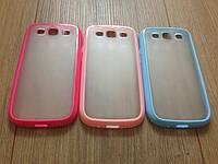 Чехол-бампер розовый для Samsung Galaxy S3 i9300, фото 1