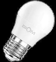 Світлодіодна лампа ВТ-543 G45 4W E27 3000K