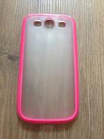Чехол-бампер малиновый Samsung Galaxy S3 i9300, фото 1