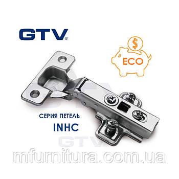 Петля GTV. Накладная с доводчиком (ZM-INHC090BEO)(Standart)