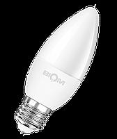 Світлодіодна лампа ВТ-568 C37 7W E27 4500K