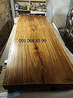 Столешницы из натурального дерева, столы со слебов, слебы из дерева