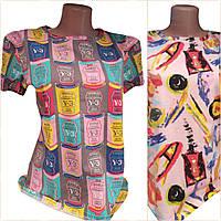 Женские цветные футболки, фото 1