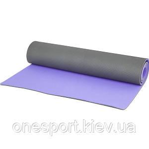 Коврик для йоги Kettler 7350-174 + сертификат на 100 грн в подарок (код 112-3979)