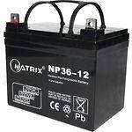 Аккумулятор к UPS 12В 36Ач Matrix NP36-12 (2015 год)