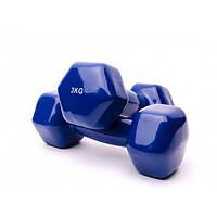 Гантель Alex 3 кг для фитнеса (код 141-4230)
