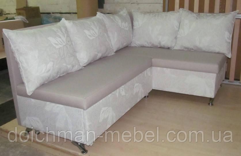 Кухонные уголки с подушками раскладной