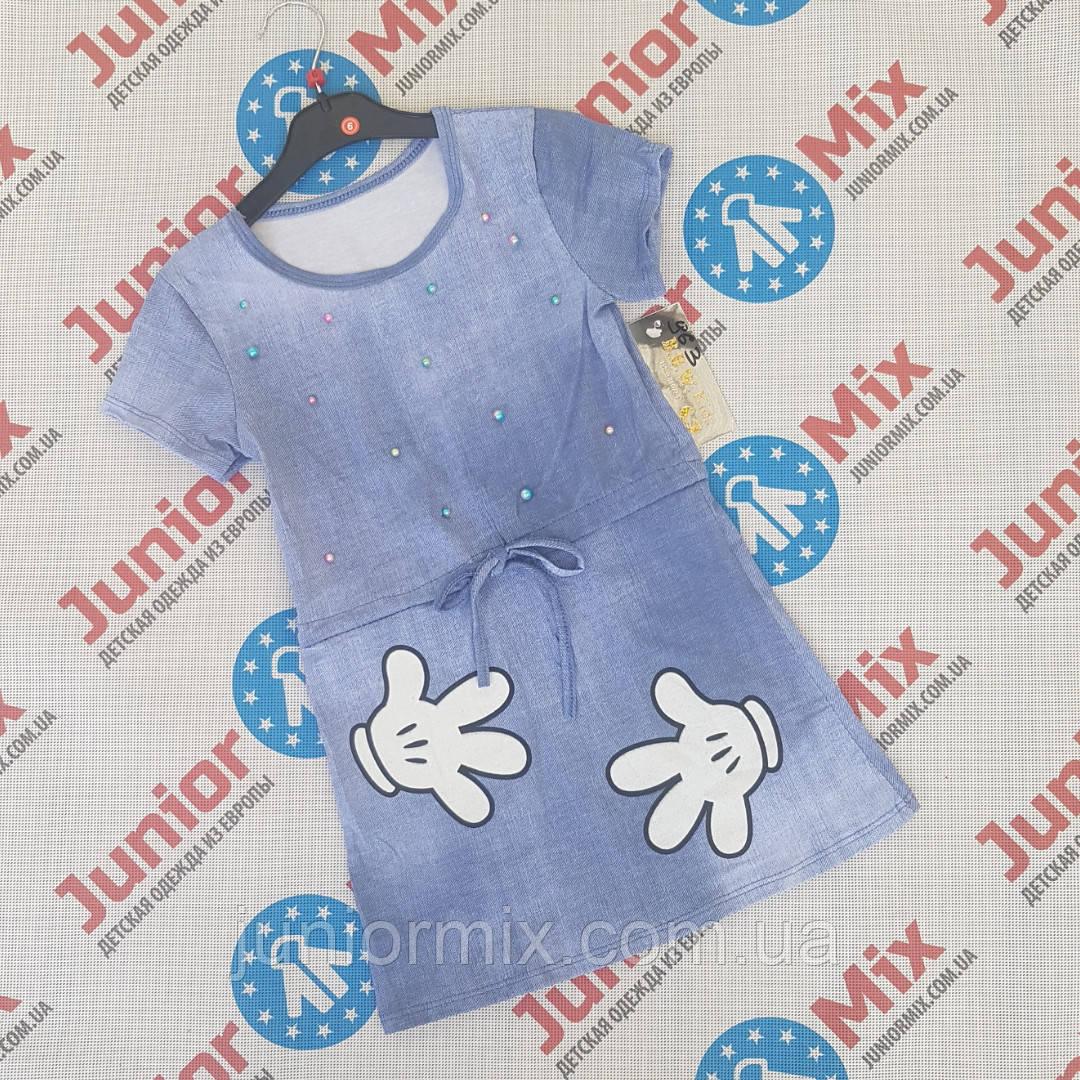 Котоновпя детская туника для девочек опто  Fashion