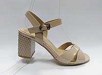 Босоножки на устойчивом каблуке. Маленькие размеры., фото 1