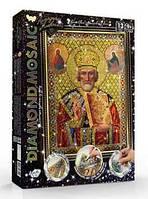 """Набор для творчества diamond mosaic алмазная живопись икона артикул dm-02-07   """"danko toys"""""""