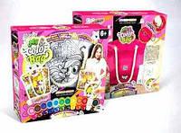"""Набір для творчості my color bag сумка-розмальовка артикул сов-01-04   """"danko toys"""""""
