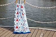 Полотенце пляжное велюр 75х150 Anchorage Lotus