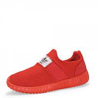 Кроссовки текстильные. Красные., фото 1