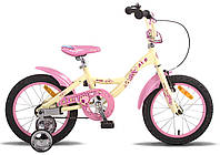 "Велосипед 16"" PRIDE ALICE 2014 бежевый матовый"