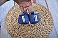 Пинетки хлопковые, синие, фото 4