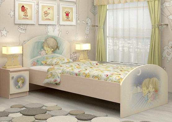 Кровать подростковая Сладкий Сон для девочки и для мальчика