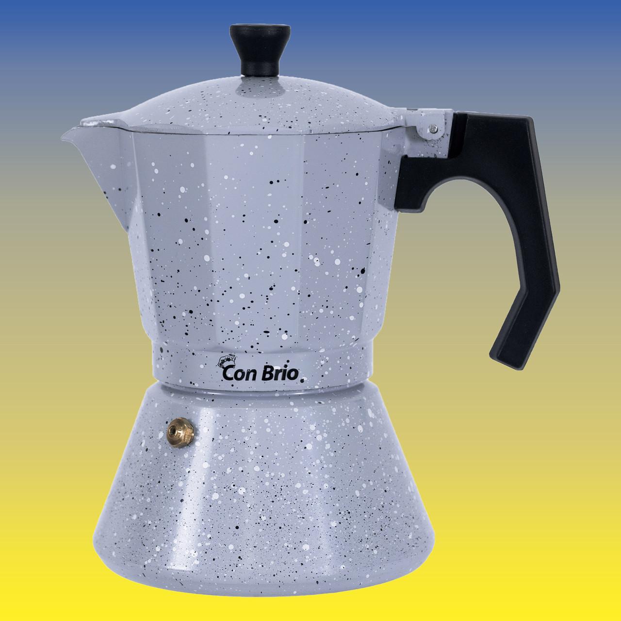 Гейзерная кофеварка, индукционная на 300 мл.