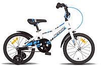 """Велосипед 16"""" PRIDE ARTHUR 2014 бело-синий"""