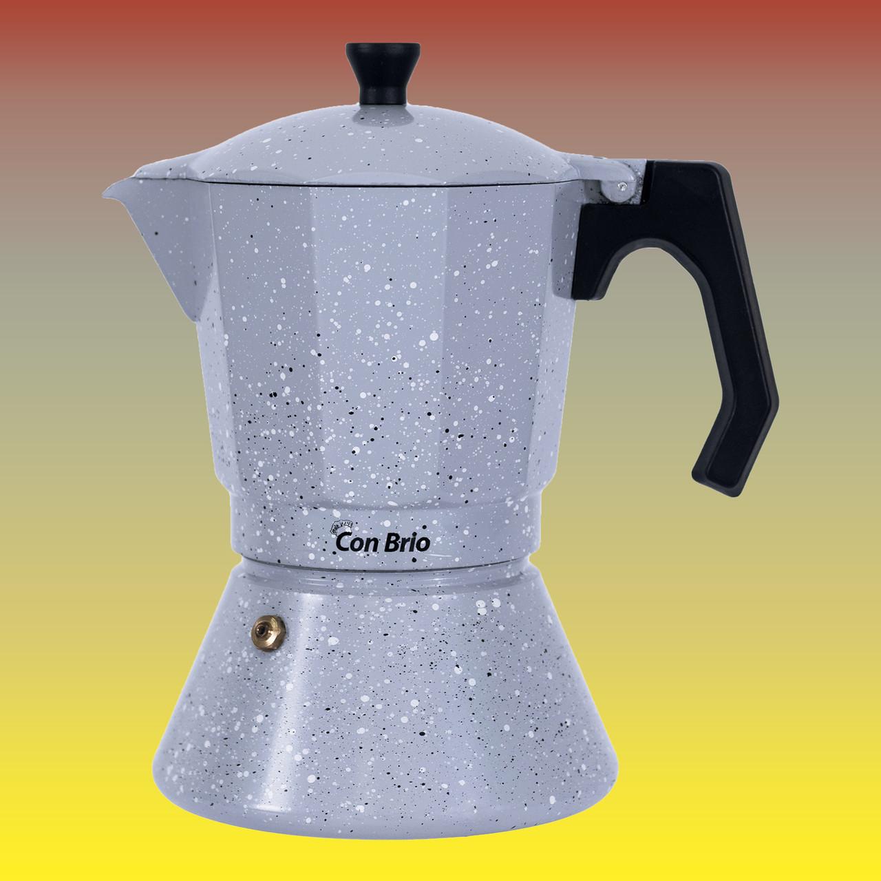 Гейзерная кофеварка, индукционная на 450 мл.