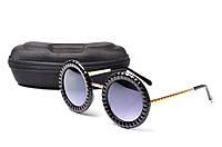 Солнцезащитные очки Aedoll 5905 002 круглые женские (без чехла)