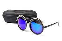Солнцезащитные очки Aedoll 5902 001 круглые женские (без чехла)