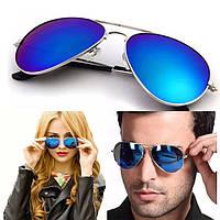 Очки Ray Ban стекло, очки капля,авиаторы унисекс, фото 1