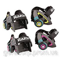 Детские ролики  Razor Jetts Heel Wheels NEON GREEN, фото 3