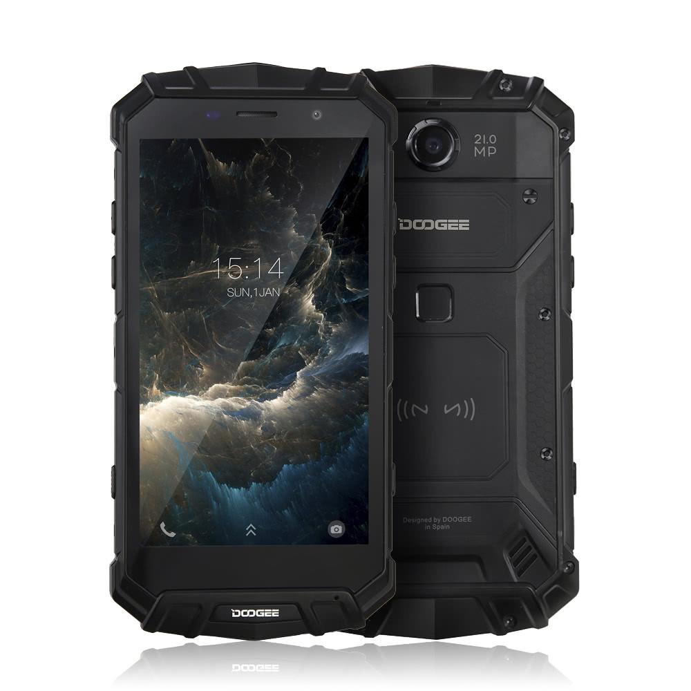 Защищенный смартфон Doogee S60 Lite 4/32gb Black IP 68 MediaTek MT6750T 5580 мАч